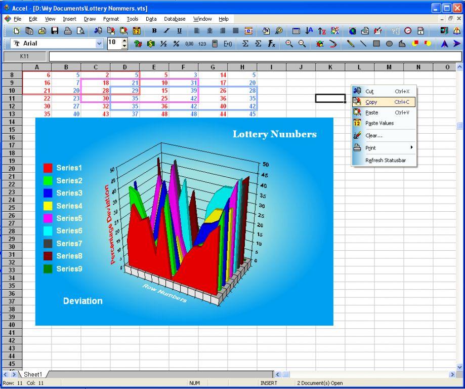 Vorschau SSuite Office - Accel Spreadsheet - Bild 2