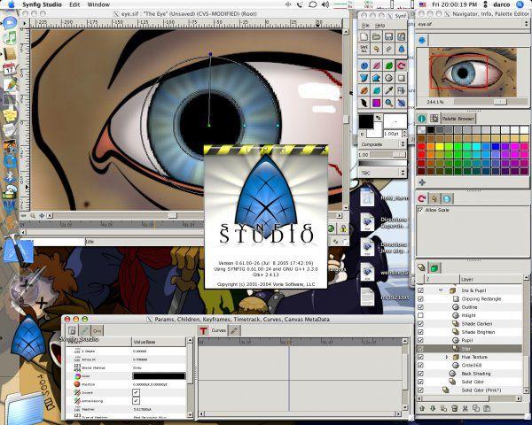 Vorschau Synfig Animation Studio - Bild 2