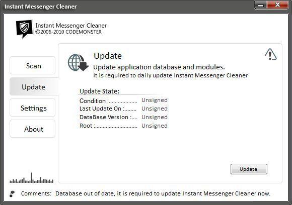 Vorschau Instant Messenger Cleaner - Bild 2