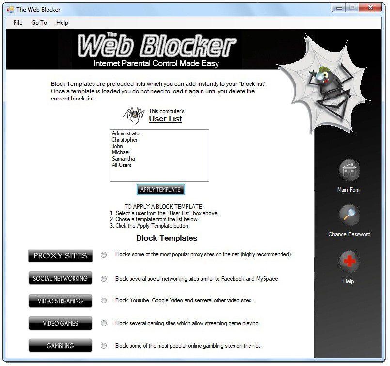 Vorschau The Web Blocker - Bild 2
