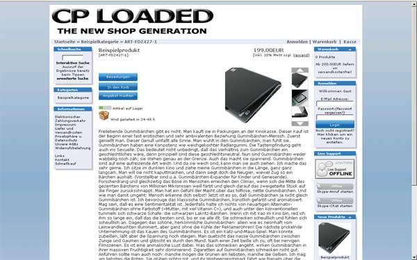 Vorschau CPLoaded Professional Free - Bild 2