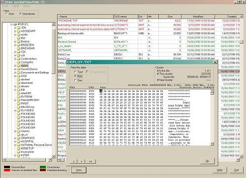 Vorschau Disk Investigator - Bild 2