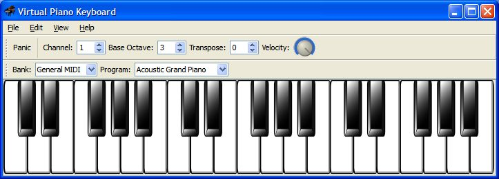 Vorschau Virtual Midi Piano Keyboard - Bild 2