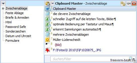 Vorschau Clipboard Master - Bild 2