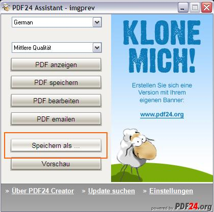 Vorschau PDF24-creator - Bild 2
