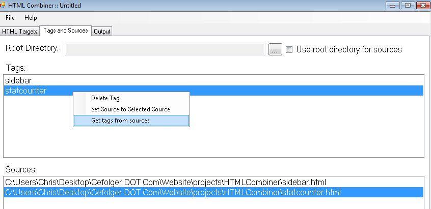 Vorschau HTML Combiner - Bild 2