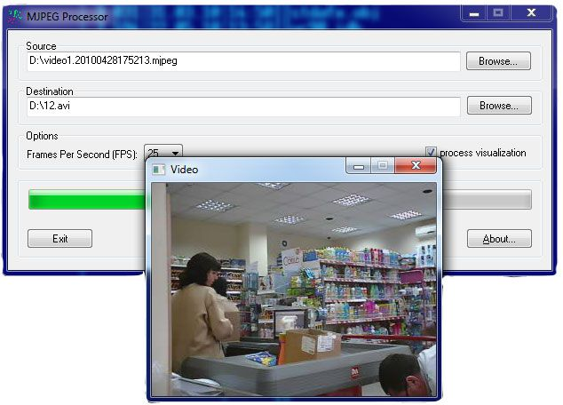 Vorschau MJPEG Processor - Bild 2