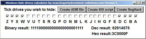 Vorschau HideCalc - Bild 2