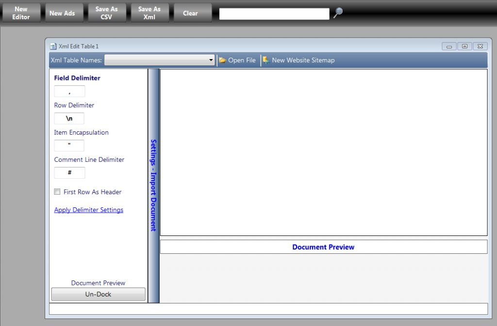 Vorschau XML Editor 2 - Bild 2