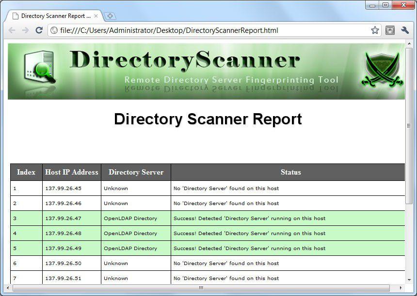 Vorschau Directory Scanner - Bild 2