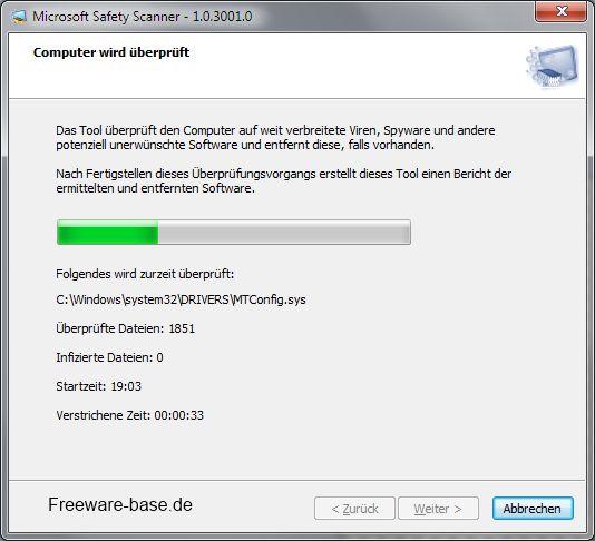 Vorschau Microsoft Safety Scanner - Bild 2