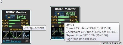 Vorschau BOINC Monitor - Bild 2