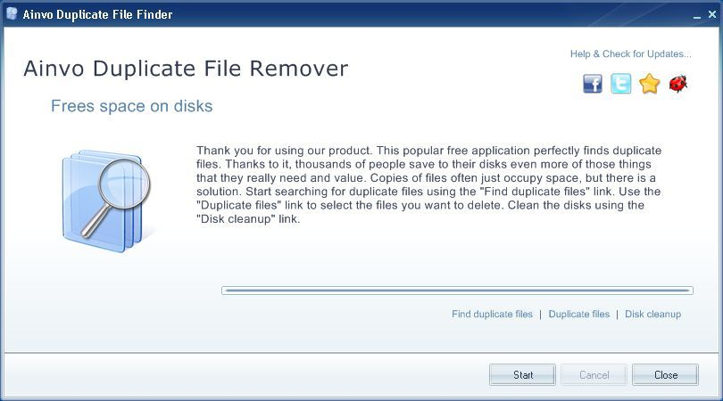 Vorschau Ainvo Duplicate File Finder - Bild 2