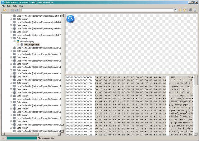 Vorschau FileScanner - Bild 2