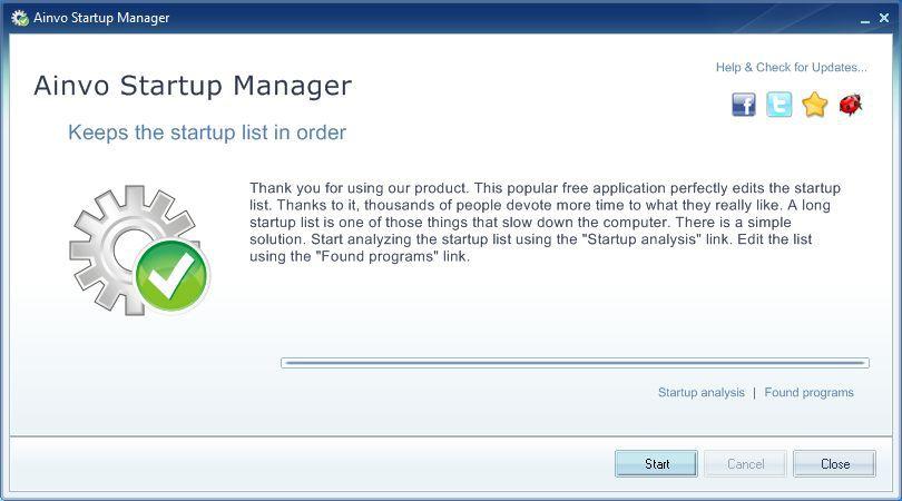 Vorschau Ainvo Startup Manager - Bild 2