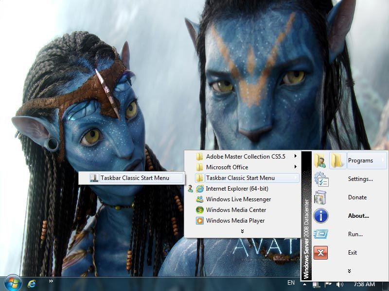 Vorschau Taskbar Classic Start Menu - Bild 2