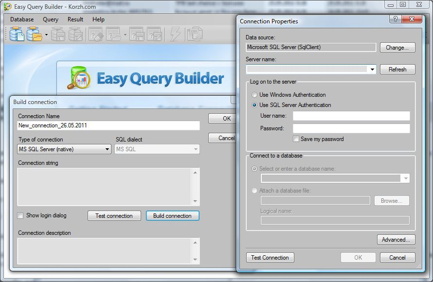 Vorschau Easy Query Builder - Bild 2