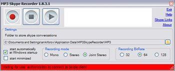 Vorschau MP3 Skype Recorder - Bild 2