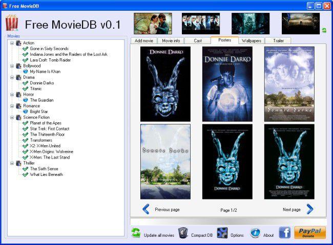 Vorschau Free MovieDB - Bild 2