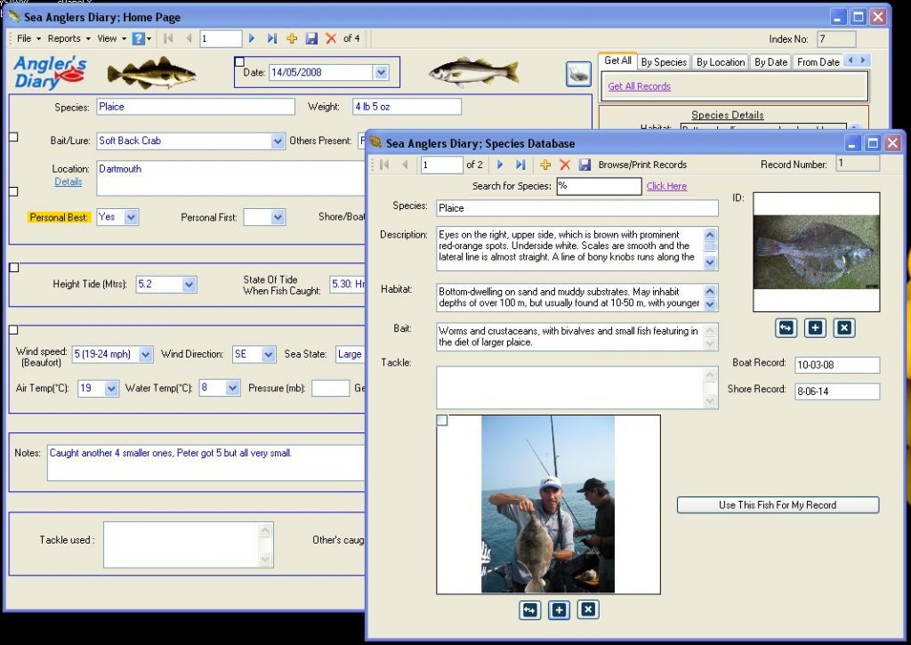 Vorschau Sea Anglers Diary - Bild 2