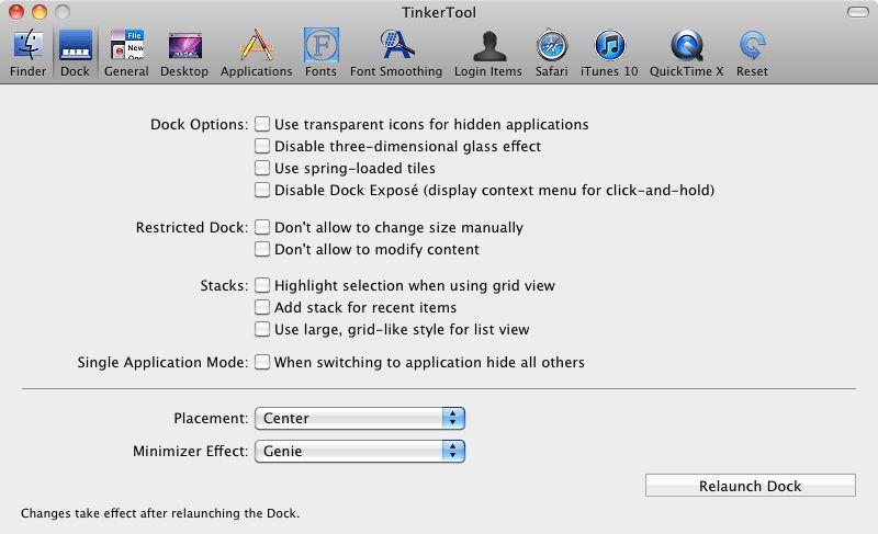 Vorschau Tinkertool for Mac - Bild 2