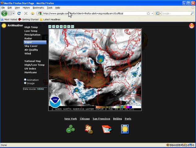 Vorschau AniWeather for Firefox - Bild 2
