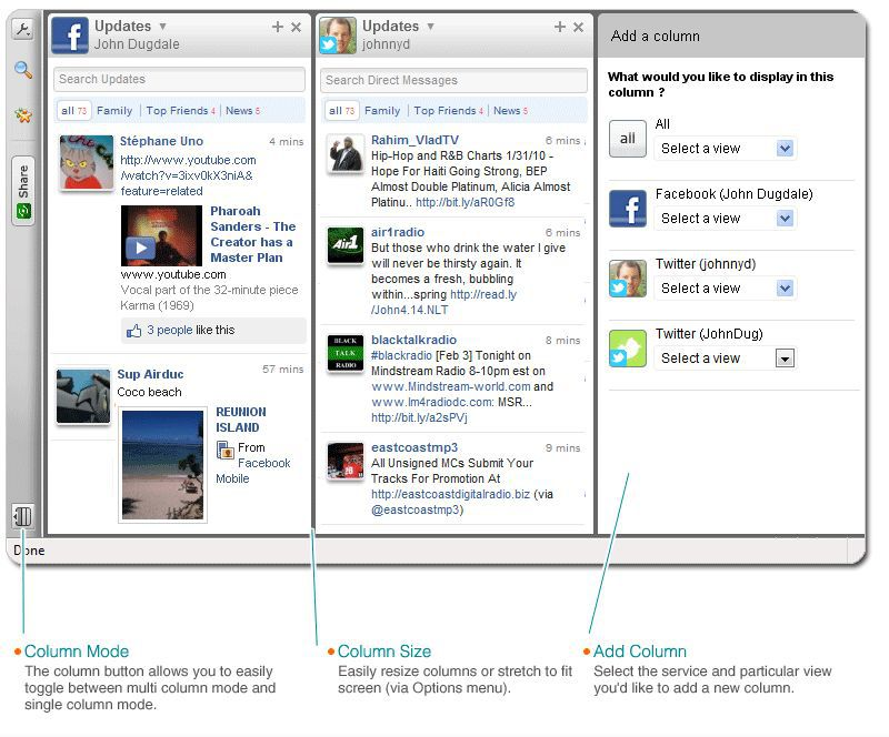 Vorschau Yoono Add-on for Firefox - Bild 2