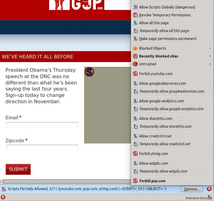 Vorschau NoScript for Firefox - Bild 2