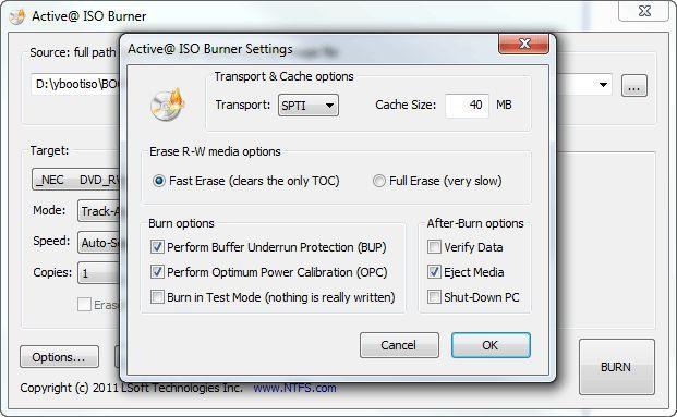 Vorschau Active ISO Burner - Bild 2