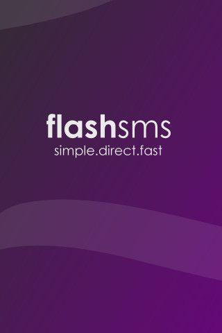 Vorschau Flash SMS iPhone-App - Bild 2