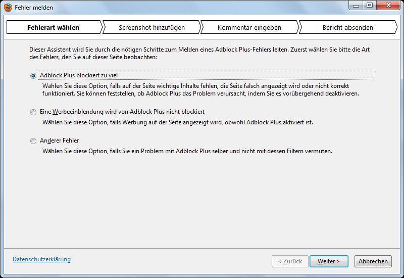 Vorschau Adblock Plus for Firefox - Bild 2