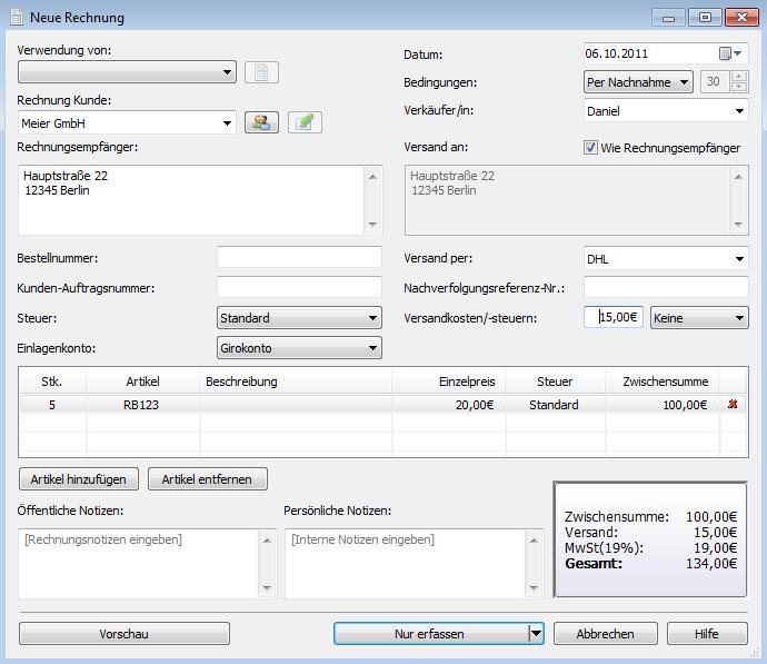 Vorschau Express Accounts - Kostenlos - Bild 2