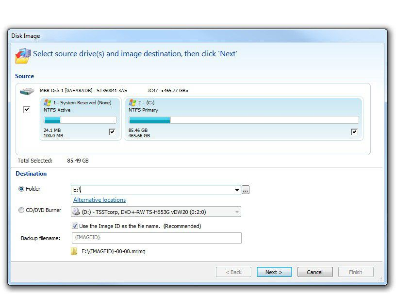 how to clone a hard drive with macrium reflect free