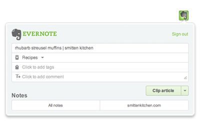 Vorschau Evernote Web Clipper for Chrome - Bild 2