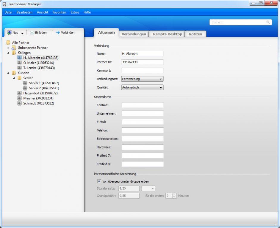 Vorschau TeamViewer for Mac OS - Bild 2