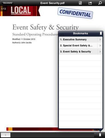 Vorschau Adobe Reader iPhone iPad App - Bild 2