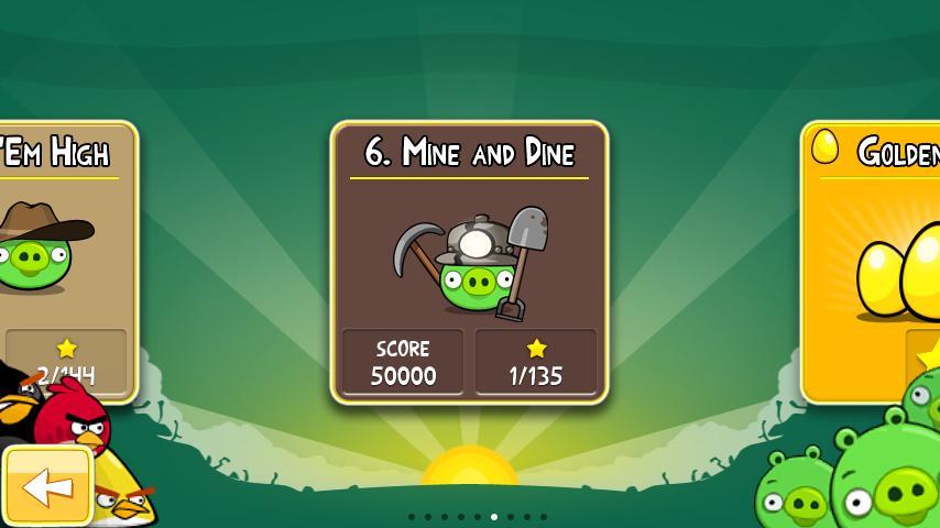 Vorschau Angry Birds Seasons - Android App - Bild 2