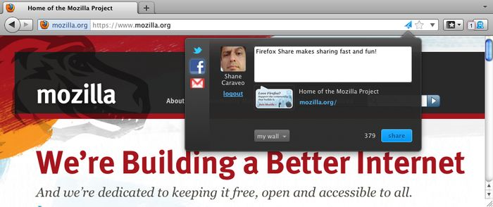 Vorschau Firefox share - Bild 2