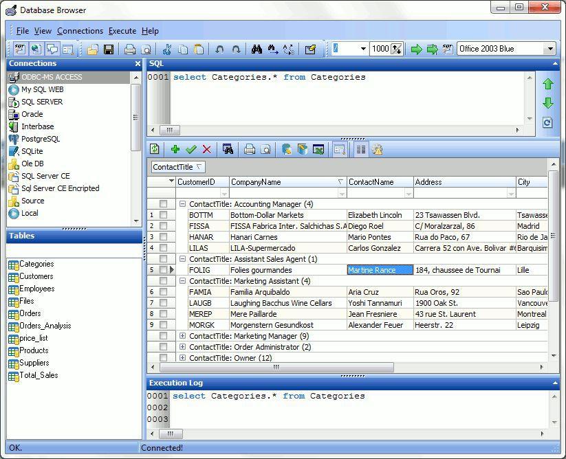 Vorschau Database Browser Portable - Bild 2