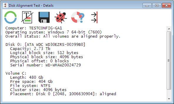 Vorschau Disk Alignment Test - Bild 2