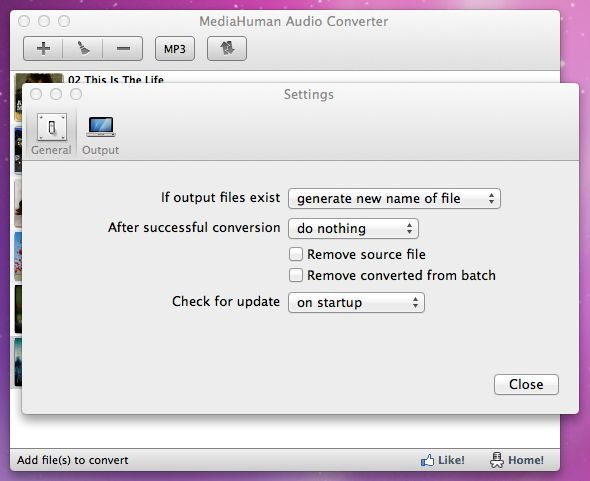 Vorschau MediaHuman Free Audio Converter - Bild 2