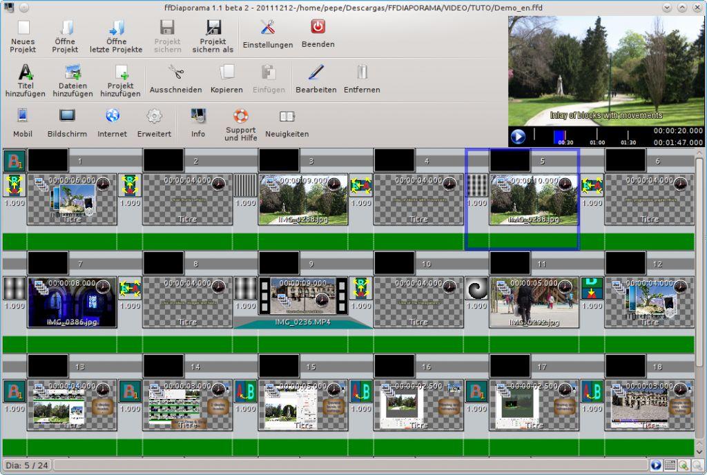 Vorschau ffDiaporama and Portable - Bild 2