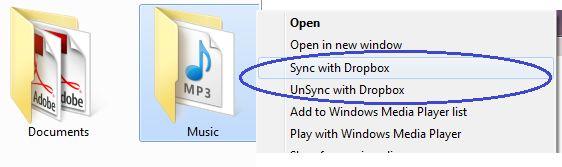 Vorschau Dropbox Folder Sync - Bild 2