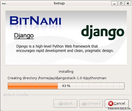 Vorschau BitNami DjangoStack - Bild 2