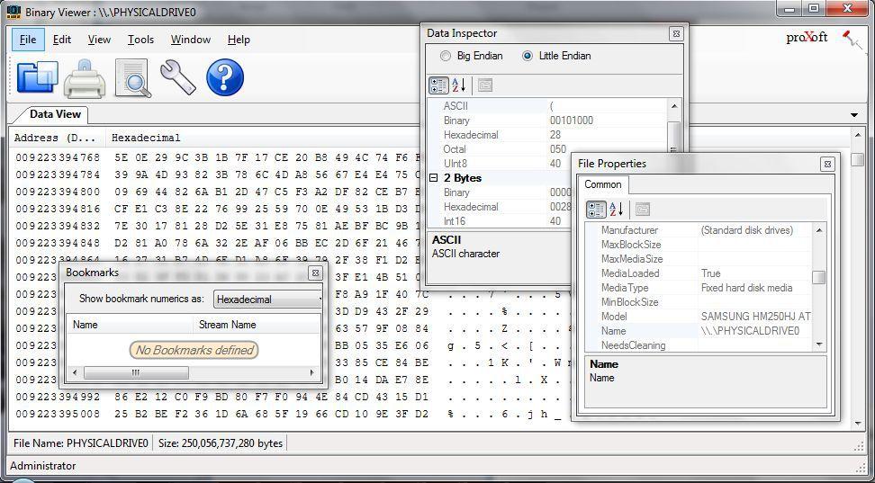 Vorschau Binary Viewer - Bild 2
