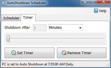 Vorschau AutoShutdown Scheduler - Bild 2
