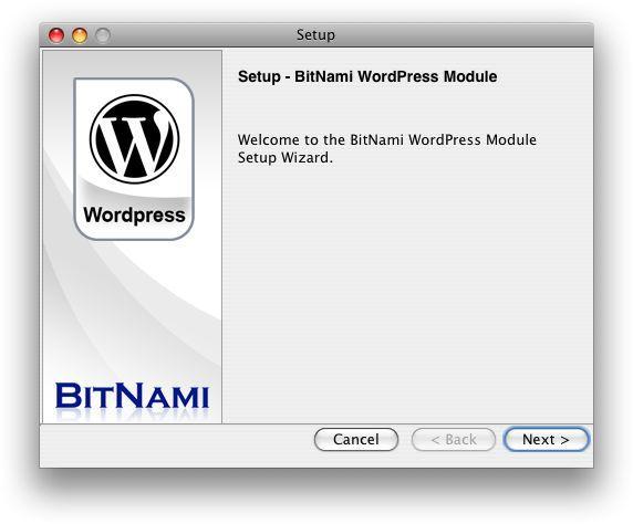 Vorschau BitNami WordPress Stack - Bild 2