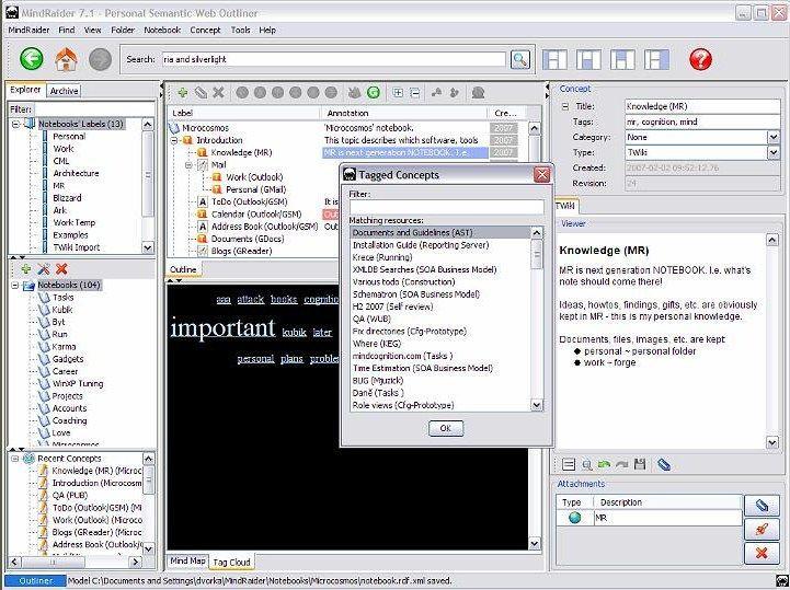 Vorschau MindRaider for Linux - Bild 2
