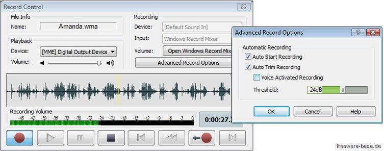 Vorschau Wavepad Kostenloser Audio-Editor Mac - Bild 2