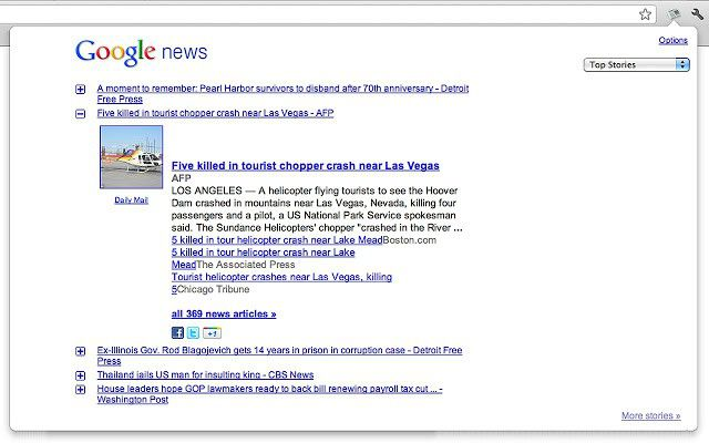 Vorschau News Reader for Chrome - Bild 2